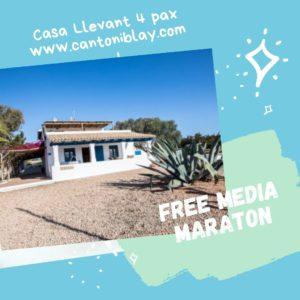 Plazas libres maratón Formentera mayo